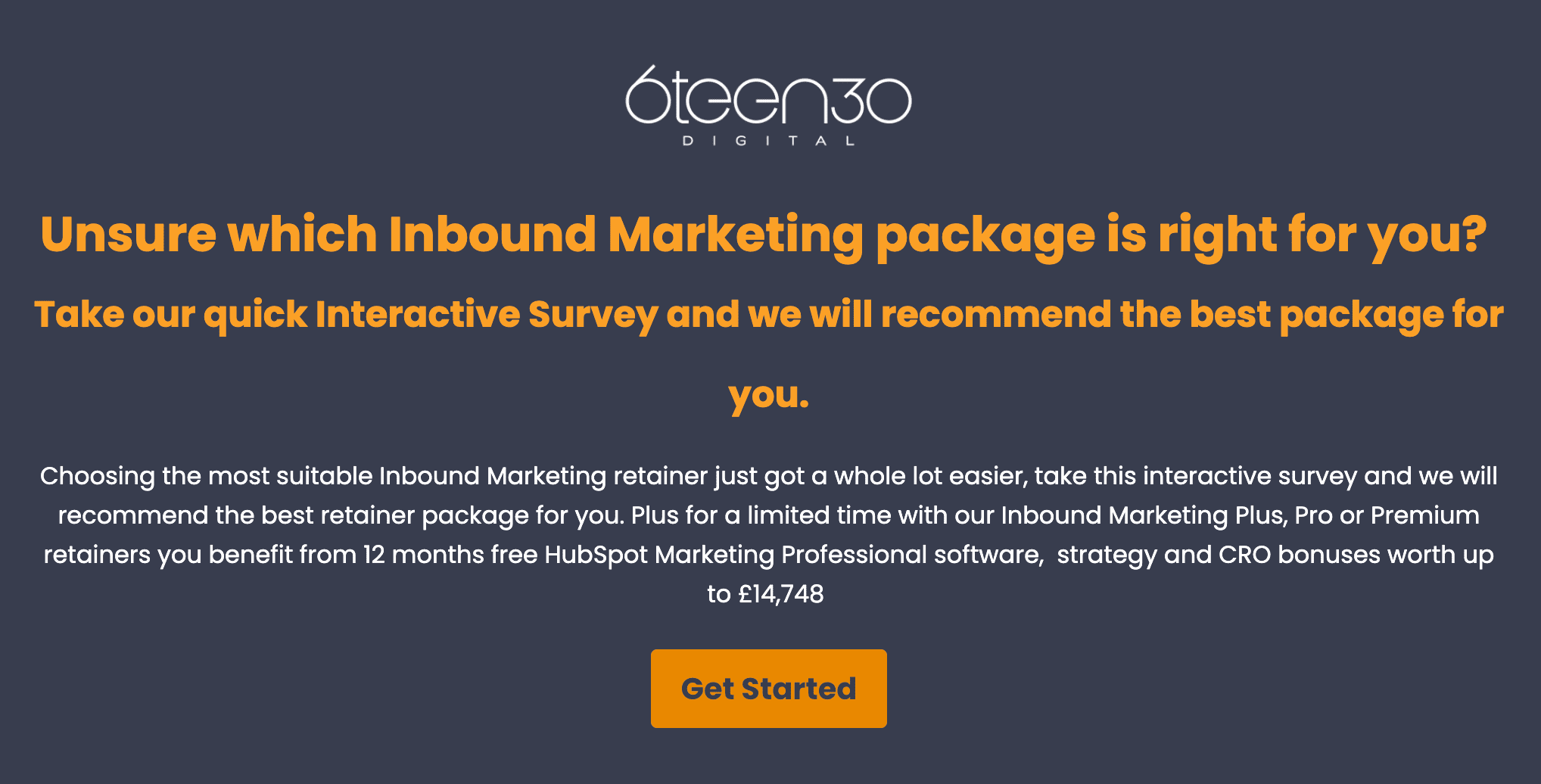 Inbound Marketing Interactive Assessment