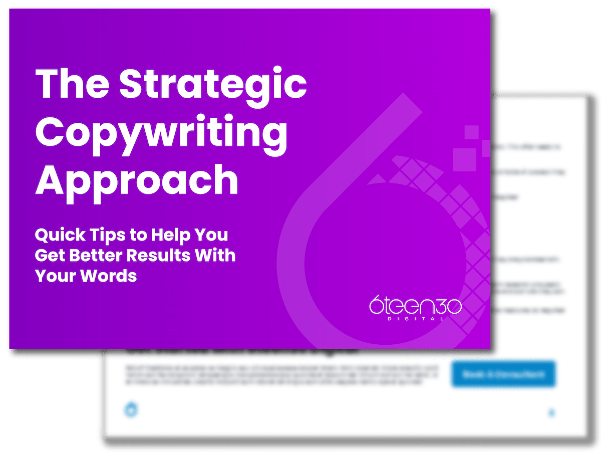 6teen30 - The Strategic Copywriting Approach V2