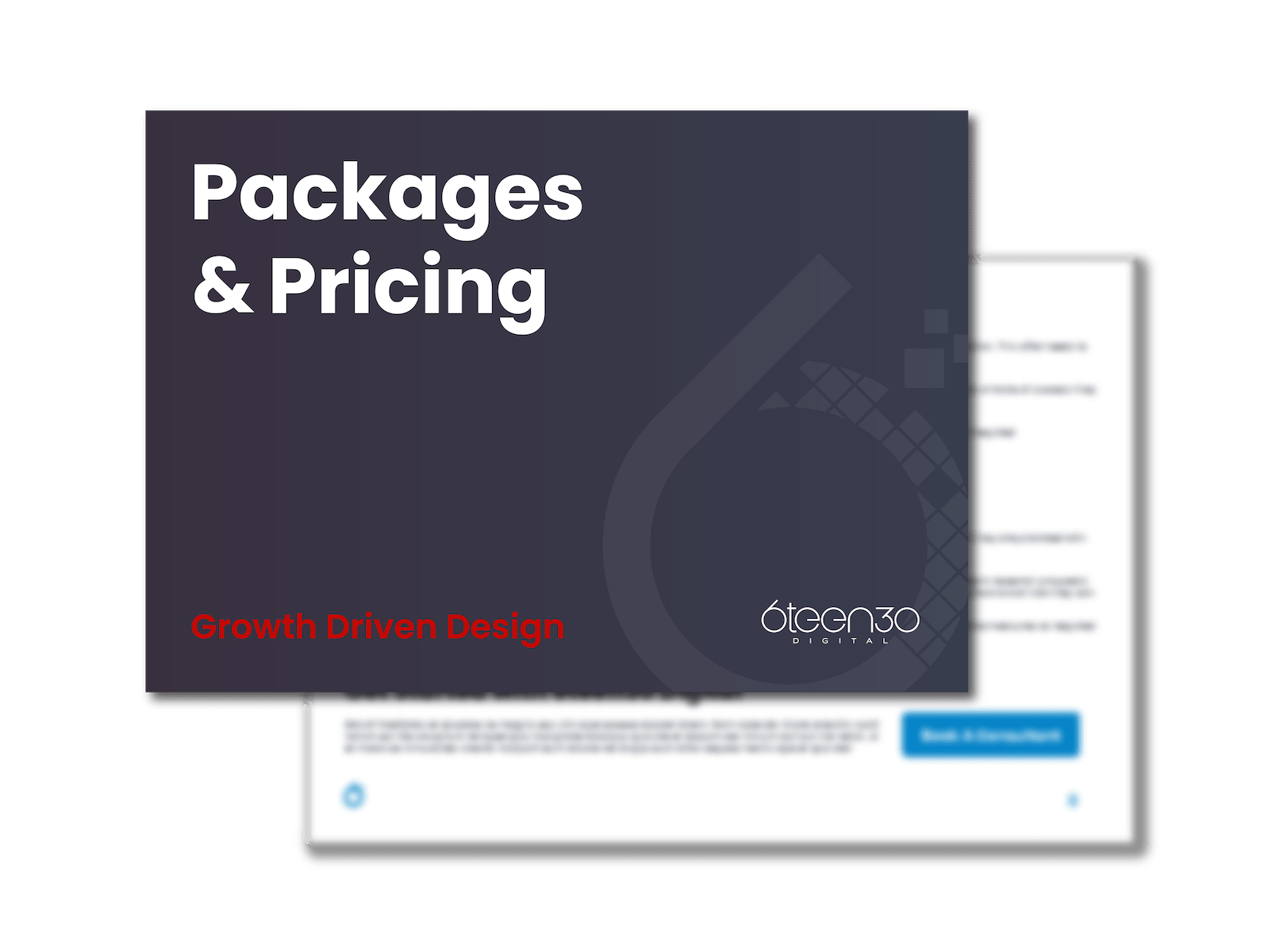 6teen30 Digital - Growth Driven Design - Pricing And Packages