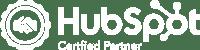 6t30 - HubSpot Certifed Partner logo - White