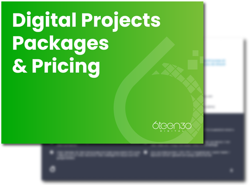 6teen30 Digital - Club Advantage Digital Project - Pricing & Packaging