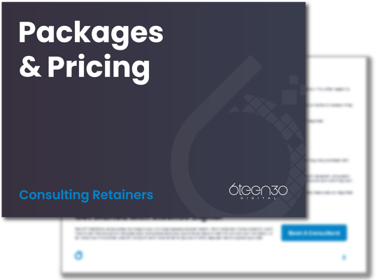6teen30 - Consulting - Pricing And Packages - Space