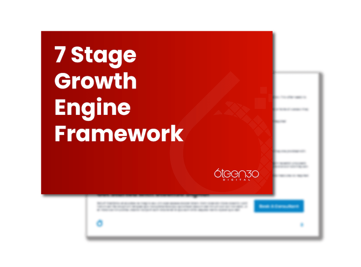 6teen30 - 3D Covers_7 Stage Growth Engine Framework