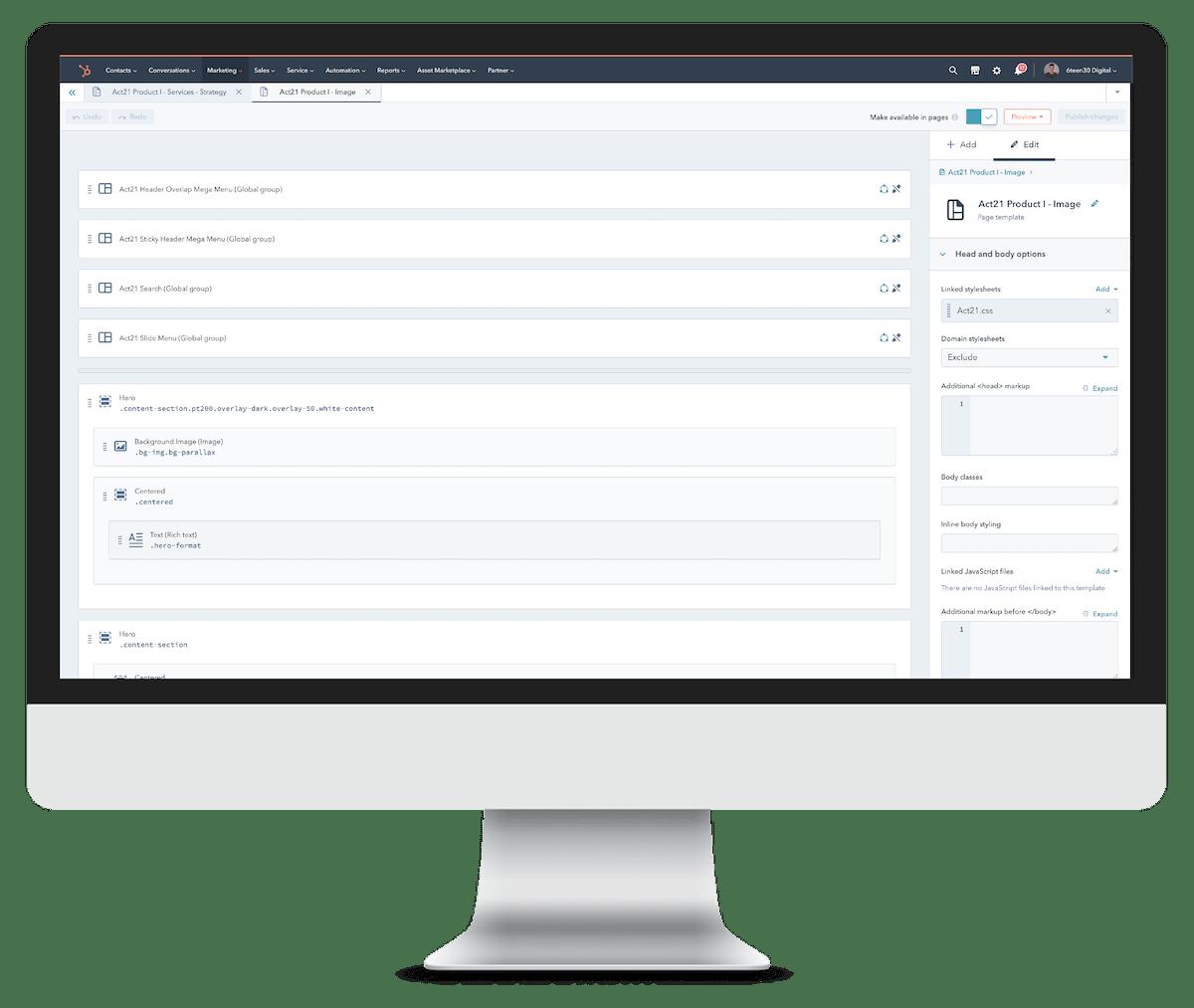 6teen30 Digital - Growth Driven Design - HubSpot CMS