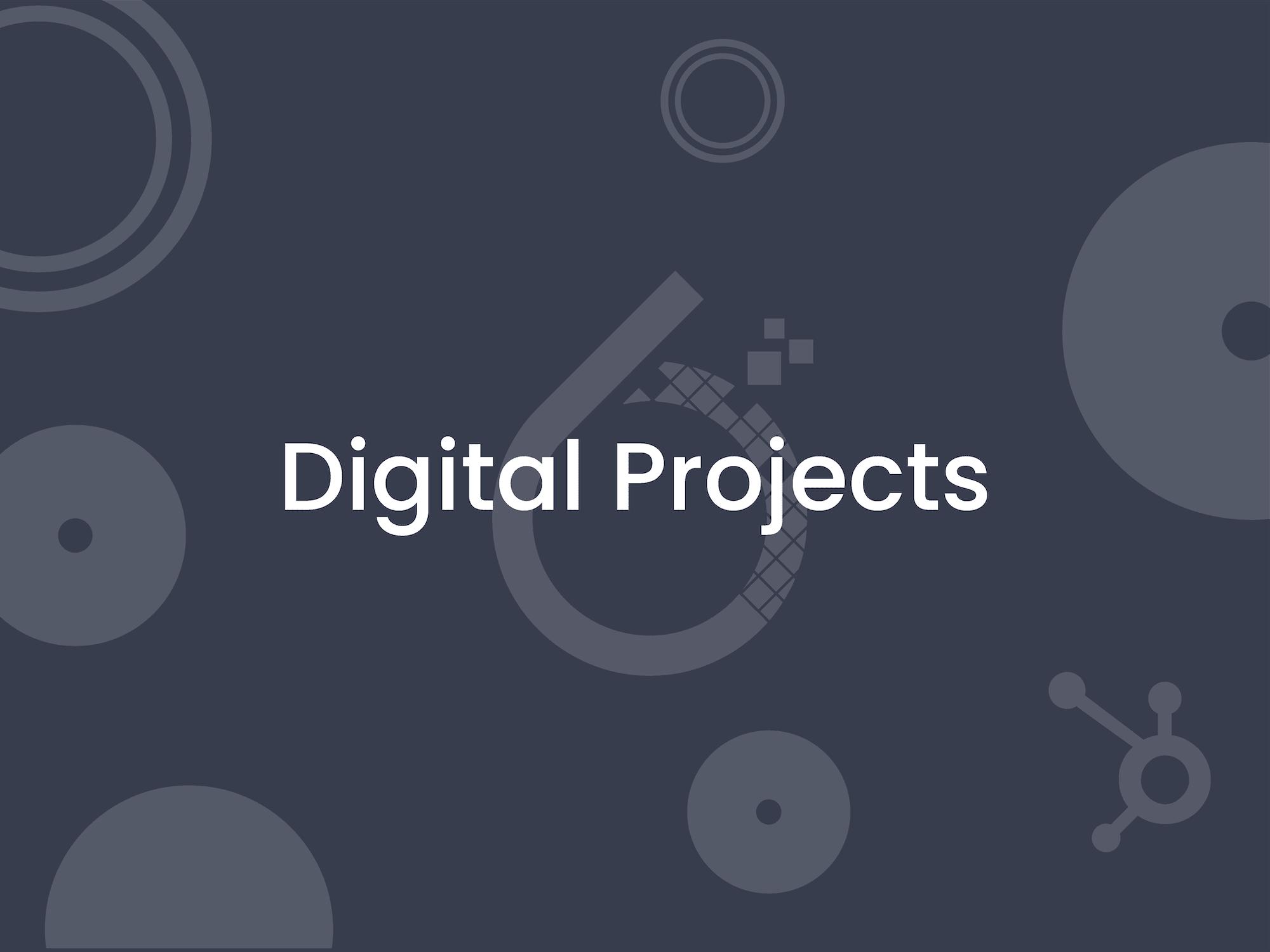 6teen30 Growth Agency - Digital Projects