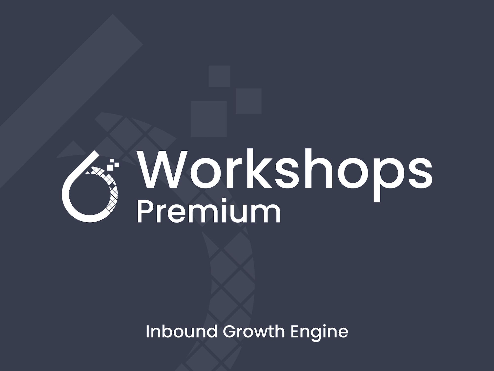 6teen30 - Growth Agency - Inbound Workshop Premium