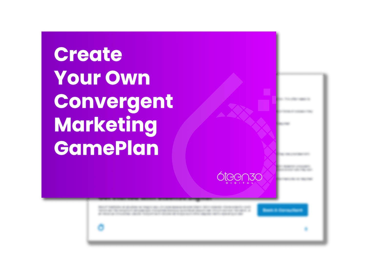 6teen30 - 3D Covers_How To Build Your Convergent Marketing Game Plan